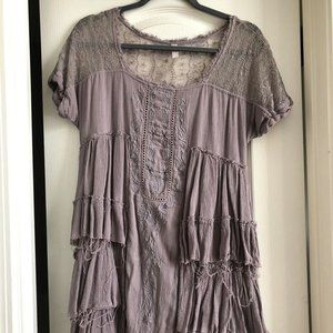 Free People Lavender Dress Size Small